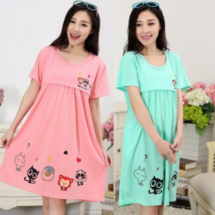 Shop Nhà Xinh - Dam bau sau sinh ket hop cho con bu NX66-4