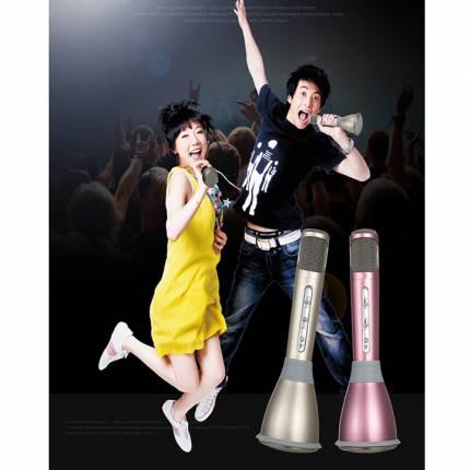 Shop Nhà Xinh - Micro Karaoke Kem Loa 3 trong 1 Cao Cap NX-K068I