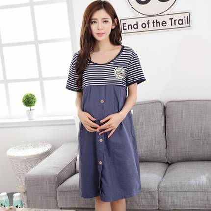 Shop Nhà Xinh - Vay Bau Cho Con Bu Gia Jean Cao Cap NX924
