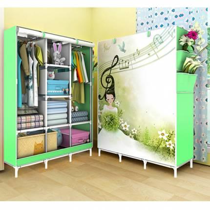 Shop Nhà Xinh - Tu Vai Quan Ao 3 Buong 3D Cao Cap Gia Re NX6822