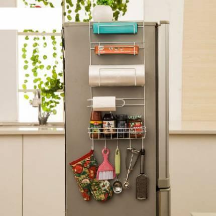 Giá treo cạnh tủ lạnh đa năng thông minh giá rẻ NX6906