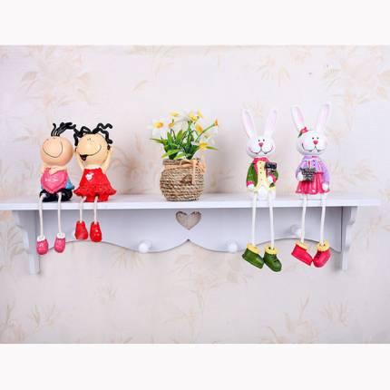 Shop Nhà Xinh - Ke Treo Tuong Trang Tri Co Moc Treo Xinh Xan NX310