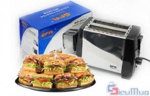Máy nướng sandwich giá chỉ có 193.000đ, dễ sử dụng, giúp bạn chuẩn bị bữa ăn sáng nhanh gọn cho gia đình của mình.