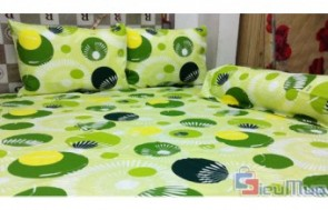 Bộ Drap Thắng Lợi 100% coton giá chỉ có 275.000đ, mềm mịn, thoáng khí, phù hợp với giường nệm của người Việt Nam.
