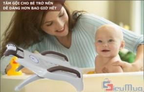 Phiếu giảm giá ghế gội đầu dành cho bé giá chỉ có 289.000đ, giúp việc gội đầu cho bé từ 6 tháng đến 9 tuổi trở nên thật dễ dàng.