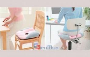 Tấm lót ngồi giúp điều chỉnh tư thế ngồi giá chỉ có 80.000đ, điều chỉnh tư thế ngồi thoải mái và khoa học, tốt cho sức khỏe.