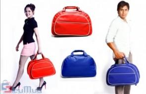 Túi xách du lịch giá chỉ có 95.000đ, thiết kế trẻ trung, kiểu dáng thời trang, được may từ chất liệu kaki nên rất bền, không trầy xước.