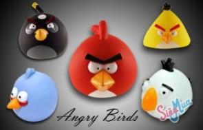 Chim Angry Birds giá chỉ 45.000đ, bỏ tiền tiết kiệm và làm vật trang trí, dễ thương với nhiều màu sắc.