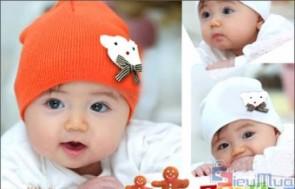 Combo 2 nón len Hàn Quốc cho bé giá chỉ có 72.000đ, giúp bé giữ ấm đầu trong tiết trời lạnh của mùa đông. - Sản phẩm cho bé