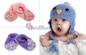 Combo 5 đôi giày vải cho bé giá chỉ có 63.000đ, cổ giày bằng thun độ co giãn tốt, tạo sự thoải mái tối đa cho bé khi mang. - Sản phẩm cho bé