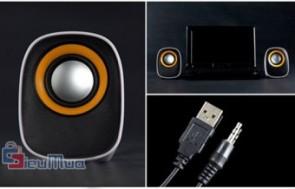 Loa Mini Multimedia giá chỉ có 106.000đ, nhỏ nhắn xinh xắn, công suất mạnh mẽ.