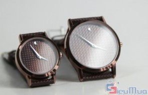 Đồng hồ cặp nam nữ mặt tròn giá chỉ có 145.000đ, kiểu dáng sang trọng, đa dạng mẫu mã cho bạn thoải mái chọn lựa, màu sắc trẻ trung, tinh tế