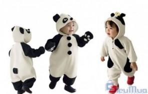 Áo liền quần Panda đáng yêu cho bé giá chỉ có 200.000đ, sẽ làm bé đáng yêu và ngộ nghĩnh - 2 - Thời Trang Trẻ Em - Thời Trang Trẻ Em