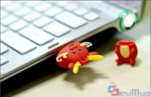 USB 8GB Hình Con Rồng giá chỉ có 158.000đ, kiểu dáng ngộ nghĩnh, xinh xắn, lưu trữ được thông tin an toàn, thuận tiện hơn.