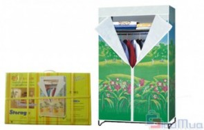 Tủ vải Thiên Nam Sơn giá chỉ có 190.000đ, chất liệu vải không dệt, dễ giặt giũ, độ dai cao, khó rách. Nhẹ nhàng, dễ lắp ráp, tháo rời và cất giữ.