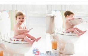 Nắp bô bồn cầu trẻ em giá chỉ có 71.000đ, sản phẩm hỗ trợ trẻ trong việc đi vệ sinh, phù hợp cho trẻ từ 2 tuổi trở lên.