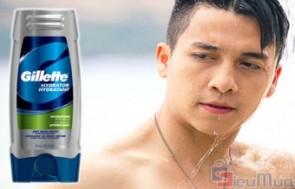 Sữa tắm và sữa rửa mặt Gillette 2 in 1 giá chỉ có 95.000đ. Mùi hương dịu nhẹ, bảo vệ bạn khỏi sự tấn công từ tác hại của tia UV, ô nhiễm không khí. - 2 - Sữa Tắm - Sữa Tắm