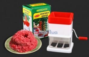 Máy xay thịt rau củ bằng tay giá chỉ có 63.000đ, thiết kế gọn nhẹ từ chất liệu nhựa cao cấp và thép không gỉ. Việc nấu ăn cho các bà nội trợ sẽ thêm nhanh gọn.