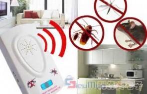 Máy đuổi côn trùng Pesreject giá chỉ có 121.000đ, với công nghệ xung điện kỹ thuật số. Không ảnh hưởng đến sức khỏe của cả gia đình, không gây hại cho các con vật nuôi trong nhà.