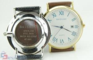 Đồng hồ nam Baishuns giá chỉ có 155.000đ, khung đồng hồ bằng thép sang trọng kết hợp với dây da bóng. Tạo nên cá tính vượt bật, phong thái lịch lãm cho người đeo.