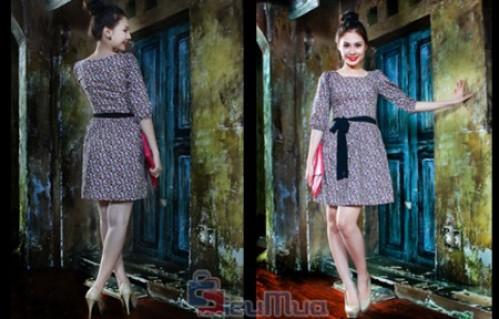 Đầm hoa công sở giá chỉ có 129.000đ, được may bằng chất liệu Cate, mềm mại. Xu hướng thời trang đang được các bạn gái yêu thích, chọn lựa.
