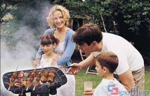 Bếp nướng không khói King Lucky giá chỉ có 350.000đ, thiết kế bếp sử dụng nguồn điện dân dụng 220V và khay nướng bằng Inox siêu bền. - 2 - Gia Dụng - Gia Dụng