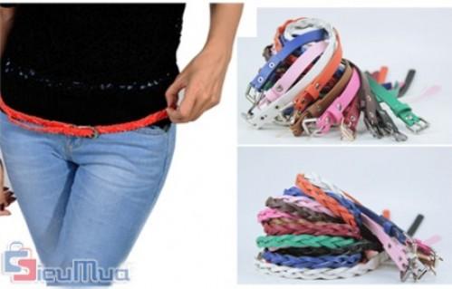 Combo 02 dây nịt thắt bím giá chỉ có 89.000đ, với nhiều màu sắc khác nhau mang đến sự dịu dàng, duyên dáng cho bạn gái. - 1 - Thời Trang Nữ - Thời Trang Nữ