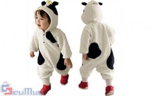 Áo liền quần Panda đáng yêu cho bé giá chỉ có 200.000đ, sẽ làm bé đáng yêu và ngộ nghĩnh - Thời Trang Trẻ Em