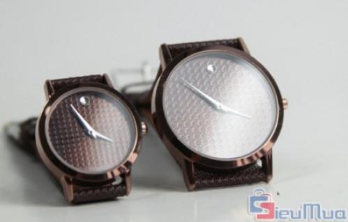 Đồng hồ cặp nam nữ mặt tròn giá chỉ có 145.000đ, kiểu dáng sang trọng, đa dạng mẫu mã cho bạn thoải mái chọn lựa, màu sắc trẻ trung, tinh tế - 1 - Thời Trang Nữ - Thời Trang Nữ - Thời Trang Nữ