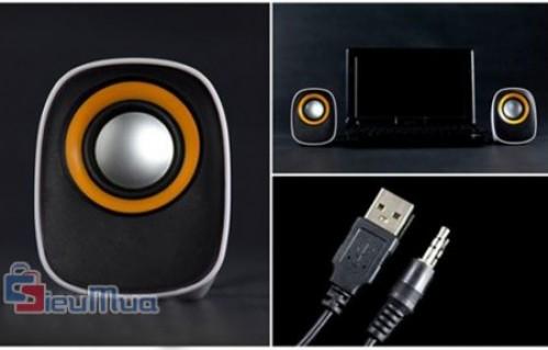 Loa Mini Multimedia giá chỉ có 106.000đ, nhỏ nhắn xinh xắn, công suất mạnh mẽ. - 1 - Công Nghệ - Điện Tử