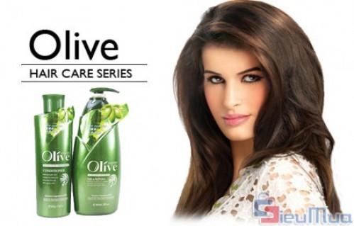 Combo dầu gội và dầu xả olive giá chỉ có 165.000đ, cho bạn mái tóc khoẻ mạnh và lưu giữ hương thơm nhẹ nhàng thật lâu.