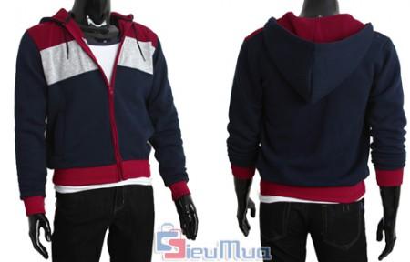 Áo khoác nỉ phối 3 màu chất liệu nỉ cao cấp, mềm mịn. Thiết kế nổi bật với cách phối màu cực kì thời trang, phong cách thể thao cho các bạn nam sự tự tin, trẻ trung, cá tính.