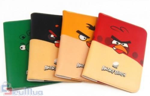 Combo 2 sổ đựng thẻ ATM, CARD hình chim Angry Birds giá chỉ có 59.000đ, chất liệu nhựa dẻo chắc chắn tấm Visit của bạn sẽ được bảo quản đẹp mắt và sang trọng. - 1 - Gia Dụng - Gia Dụng