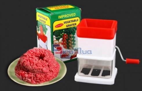 Máy xay thịt rau củ bằng tay giá chỉ có 63.000đ, thiết kế gọn nhẹ từ chất liệu nhựa cao cấp và thép không gỉ. Việc nấu ăn cho các bà nội trợ sẽ thêm nhanh gọn. - 1 - Gia Dụng - Gia Dụng