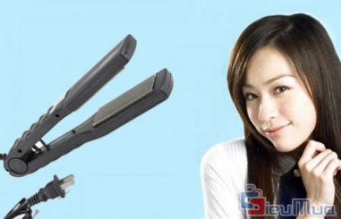 Máy uốn duỗi tóc đa năng giá chỉ có 118.000đ. Thiết kế hiện đại, chất liệu cao cấp an toàn cho tóc. Sáng tạo các kiểu tóc thẳng, xoăn, bồng bềnh, gợi cảm cho bạn gái.
