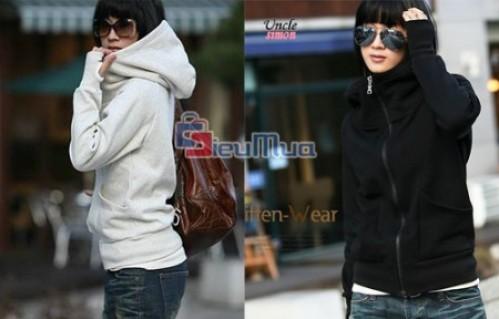 Áo khoác xỏ ngón dành cho nữ 125.000đ. Chất liệu vải nỉ mịn, bền và đẹp. Phù hợp cho bạn trong tiết trời se lạnh của mùa Đông hay nắng gắt mùa Hè.