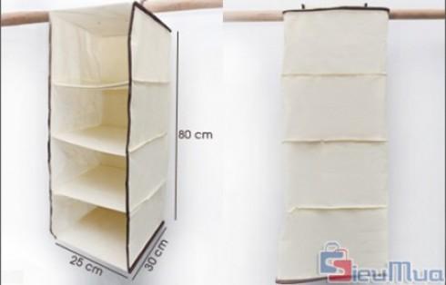 Tủ treo tường 4 ngăn giá chỉ có 79.000đ, không chiếm nhiều diện tích, có nhiều chức năng sẽ giúp căn nhà của bạn luôn gọn gàng, ngăn nắp. - 1 - Gia Dụng - Gia Dụng