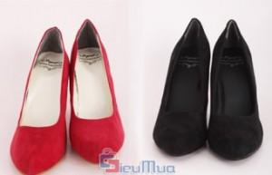 Giày cao gót VNXK Vagabond giá chỉ có 175.000đ. Chất liệu da lộn thời thượng. Tự tin nơi công sở, lộng lẫy trong buổi tiệc, nổi bật khi xuống phố với giày cao gót thời trang. - 1 - Thời Trang Nữ - Thời Trang Nữ