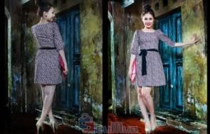 Đầm hoa công sở giá chỉ có 129.000đ, được may bằng chất liệu Cate, mềm mại. Xu hướng thời trang đang được các bạn gái yêu thích, chọn lựa. - 2 - Thời Trang Nữ - Thời Trang Nữ