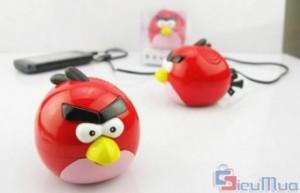 Máy nghe nhạc Angry Bird giá chỉ có 83.000đ. Hình dáng ngộ nghĩnh đáng yêu mô phỏng các chú chim giận dữ. Tai nghe âm lượng tốt, Bass rõ và Treble trong trẻo. - 1 - Công Nghệ - Điện Tử - Công Nghệ - Điện Tử