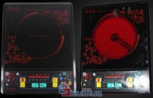 Bếp hồng ngoại TOSHIBA giá chỉ có 458.000đ. Thiết kế đẹp, gọn gàng, các phím điều khiển nhạy và an toàn về điện tuyệt đối. Việc nấu nướng sẽ trở nên dễ dàng hơn cho các bà nội trợ. - Gia Dụng