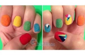 Combo 2 lọ nail nhung mùa thu đông giá chỉ có 80.000đ, mang lại phong cách mới cho kiểu thời trang sơn móng tay của các bạn gái đa phong cách.