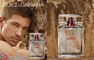 Nước hoa Dolce & Gabbana the one SPORT giá chỉ có 150.000đ. Mùi hương cuốn hút, thể thao, nam tính, mạnh mẽ. Phong cách dành cho quý ông lịch lãm.