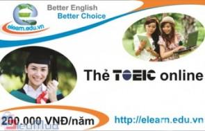 Thẻ học TOEIC online giá chỉ có 99.000đ. Tiếp cận kho dữ liệu phong phú với 100 cuốn sách TOEIC. Nâng cao trình độ Anh Ngữ, tự tin giao tiếp và sử dụng tiếng Anh thuần thục.