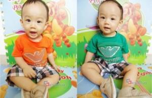Bộ quần áo cho bé trai giá chỉ có 95.000đ, chất liệu cotton thun mềm mại, không gây kích ứng da tạo cảm giác thoải mái cho bé.