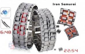 Đồng hồ LED SAMURAI dành cho nam giá chỉ có 119.000đ, làm từ thép không gỉ, phong cách thời trang độc đáo, mạnh mẽ.