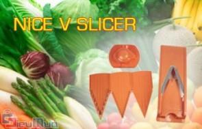 Dụng cụ cắt gọt củ quả chính hãng Nice-V Slicer giá chỉ có 148.000đ, thuận tiện cho chị em phụ nữ khi làm bữa ăn cho nhiều người,