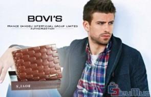 Bóp nam da bò Bovi's giá chỉ có 139.000đ, được làm từ chất liệu da bò cao cấp, màu nâu thể hiện sự cá tính của phái mạnh.