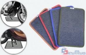 Combo 4 thảm lót chân chống xe máy giá chỉ có 57.000đ, thảm được làm từ vải dày nên rất êm ái và có độ bám cao, chống trơn trượt. - 3 - Gia Dụng - Gia Dụng