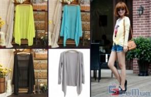 Áo khoác Cardigan dành cho nữ giá chỉ có 89.000đ, phong cách nhẹ nhàng và nữ tính, cardigan sẽ làm bộ trang phục của bạn thêm phần mềm mại. - 1 - Thời Trang Nữ - Thời Trang Nữ